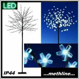 Stehleuchte LED Baum 200 Blütenbaum 1,80 m Gartenleuchte - Bild vergrößern