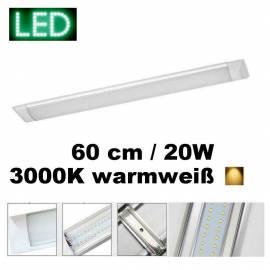 Anbauleuchte ASPEN flach LED 20W 60cm 3000K - Bild vergrößern
