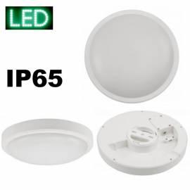MC LED Feuchtraumleuchte 18W IP65 rund*** D230mm  - Bild vergrößern