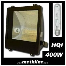 Flutlichtstrahler HIT HQI 400W asym. P400 schwarz - Bild vergrößern