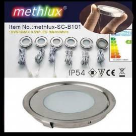 Bodeneinbauleuchte L3 3er-Set LED Parkett Laminat Leuchte - Bild vergrößern