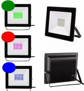 LED Flutlichtstrahler 100W Ax100 grün Profiline High-Power - Bild vergrößern
