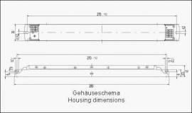 EVG für Leuchtstofflampe T8 2x58W elektronisches Vorschaltgerät - Bild vergrößern