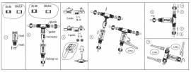 T Dosenmuffe 230V IP68 wasserdicht Muffe Kabelmuffe Kabelklemme - Bild vergrößern