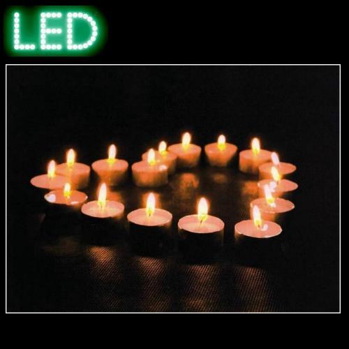 methline gmbh led bild auf leinwand candlelight. Black Bedroom Furniture Sets. Home Design Ideas