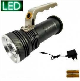 LED Power Handlampe XML-T6-10W Handscheinwerfer Taschenlampe - Bild vergrößern