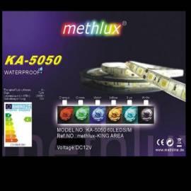 LED SMD Band 5050 5,00m warmweiß Lichtband 2-pol. - Bild vergrößern