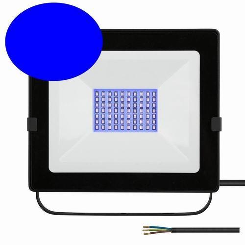 LED Flutlichtstrahler 100W Ax100 blau Profiline High-Power