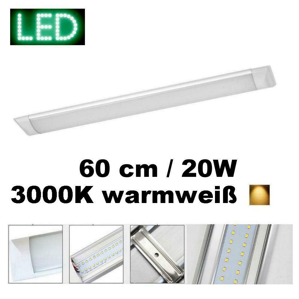 Anbauleuchte ASPEN flach LED 20W 60cm 3000K