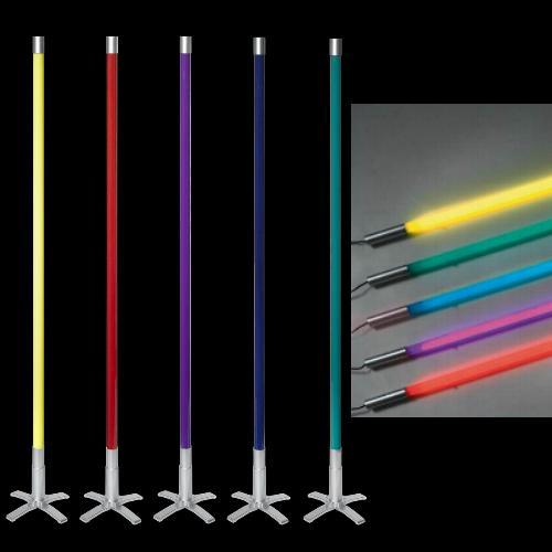 Dekostab 36W Leuchtstab farbig blau Neonlicht Leuchtstofflampe