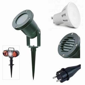 Gartenstrahler mit Erdspieß G3 LED 3W warmweiß 230V