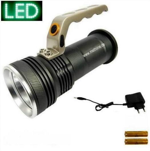 LED Power Handlampe XML 10W Handscheinwerfer Taschenlampe