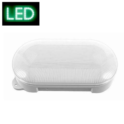 LED Feuchtraumleuchte HL8 oval 8W IP65