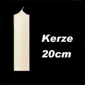 Altarkerze 200 x 60 Kerze Laternenkerze weiß