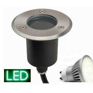 Bodeneinbauleuchte alpha-rund LED GU10 230V